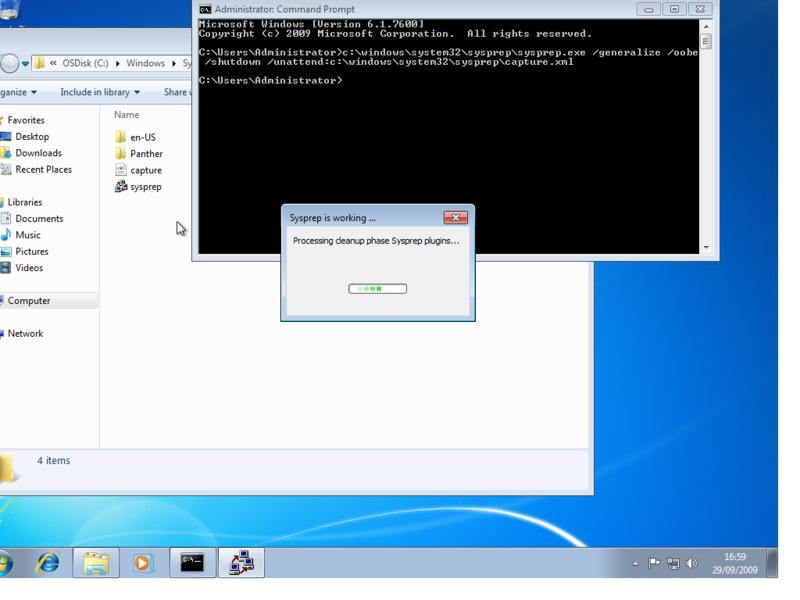 Windows 7 Deployment Part 4 - Airdesk