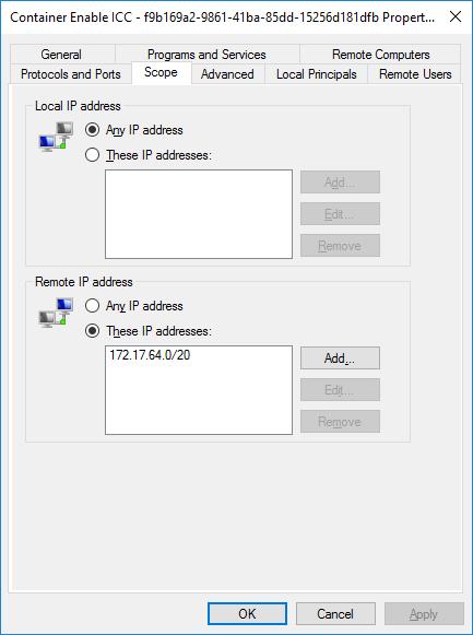 Docker Automatic Firewall Rules ICC to Docker Network