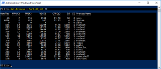 Get Process Hyper-V Container