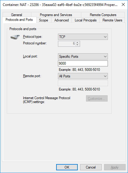 Container Automatic Firewall Rule for Portainer